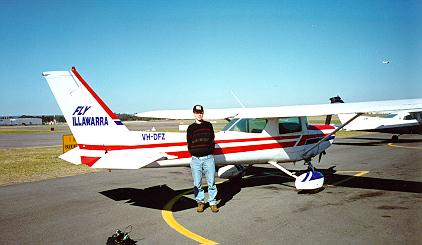 Cessna first solo